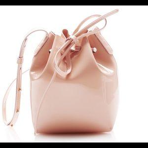 NWT Mansur Gavriel Rosa/rosa Mini Mini bucket bag